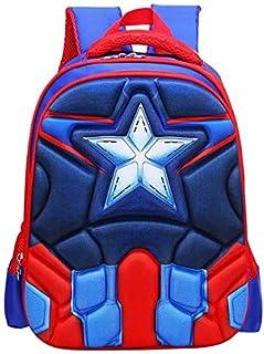 حقيبة مدرسية للاطفال بتصميم رسوم متحركة ثلاثية الابعاد لابطال خارقين للاولاد والبنات، حقيبة كتف، حقائب ظهر