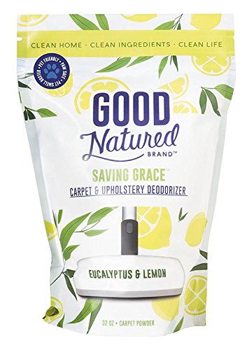 Good Natured Brand The Best All-Natural Pet-Friendly Eco-Friendly Saving Grace Carpet & Upholstery Deodorizer, 32 oz.