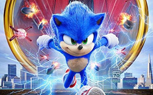 fancj Rompecabezas 1000 Piezas 75x50cm Encantador Sonic The Hedgehog Adulto niños Rompecabezas Juego de Juguete giftabc Rompecabezas