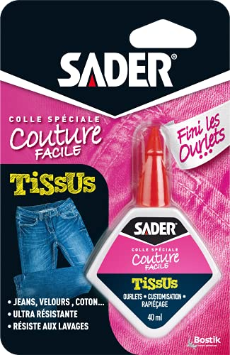 Sader Colle pour Tissus \