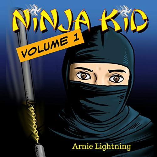 Ninja Kid: The First Day of School audiobook cover art