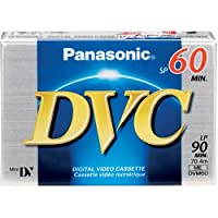 パナソニック(Panasonic) 60 - 90 Minutes Mini DV Tape AY-DVM60EJ