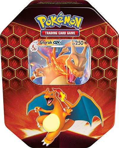 Unbekannt Pokemon - 1x Glurak GX TIN Box - Herbst 2019 Tin- Deutsch
