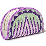 Coin Purse Beaded Clutch Wallet Inspired from Native American Beard work Pouch Bag VA-CP-03
