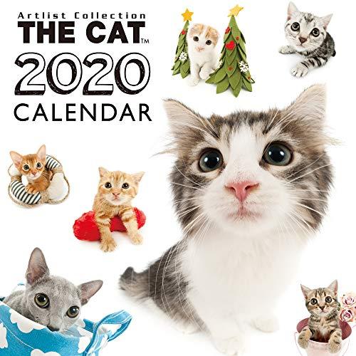 カレンダー 2020 壁掛け ミニサイズ THE CAT 猫 オールスター (ミニ) 403344 2019年9月-2020年12月 アーリスト ネコ ねこ All-Stat