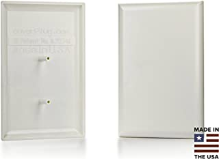 The COVERPLUG 2-Pack Paintable Electrical Outlet Cover