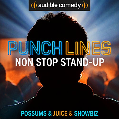 Ep. 1: Non-Stop Stand-up (Punchlines) audiobook cover art