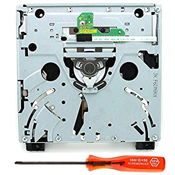 Wii Disc Drive Replacement Original DVD Drive ROM Disc DIY Replacement Repair Part Assembly OEM Plug and Play Unit Compatible for Nintendo WII Game Console D2C D3-2 DMS D2A D2B D2E