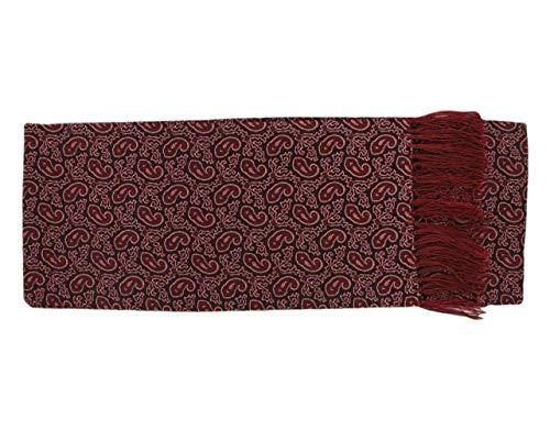 Michelsons of London Écharpe pourpre Petit Paisley Silk de