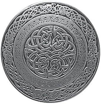 Circular Celtic Knotwork Scottish Kilt Belt Buckle