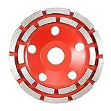CLJ-LJ CD turbo de sierra de diamante azulejos de cerámica de corte de granito de mármol de diamantes sierra ángulo de la hoja amoladora (Outer Diameter : Red)