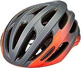 BELL Formula, Casco da bicicletta Road Unisex-Adulti, Grigio opaco/lucido/infrarossi, L | 58-62cm