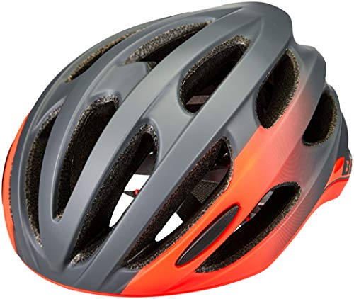 Bell Casco da bicicletta unisex per adulti, Formula Road, opaco/grigio lucido, a infrarossi, L | 58 – 62 cm