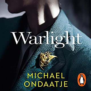 Warlight                   By:                                                                                                                                 Michael Ondaatje                               Narrated by:                                                                                                                                 George Blagden                      Length: 7 hrs and 32 mins     131 ratings     Overall 4.1