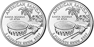 2009 American Samoa State Quarters (Philadelphia & Denver Mints) Uncirculated