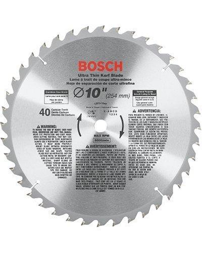 Bosch CBCL1040 Hoja de sierra de uso general ATB de 40 dientes de 10 pulgadas con eje de 5/8 pulgadas