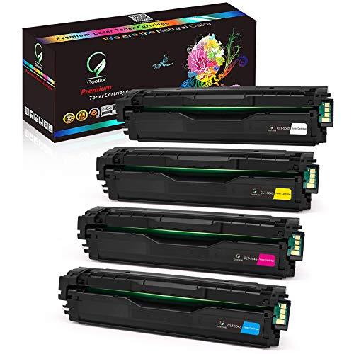 Gootior Toner Kompatibel für CLT-P504C CLT-K504S CLT-504 CLT C504S M504S Y504S für Samsung Xpress C1860FW C1810W Toner Samsung C1860 Samsung CLX-4195FW CLX-4195FN CLX 4195