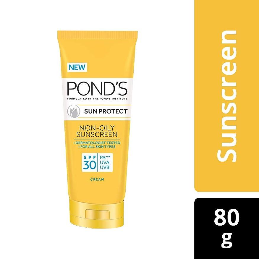 便利さ推定する維持POND'S Sun Protect Non-Oily Sunscreen SPF 30, 80 g