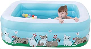 HOMESROP Piscina Infantil Inflable for ninos Water Play Life- Piscina for ninos al Aire Libre- Suave Anti-Golpes (Color : B)