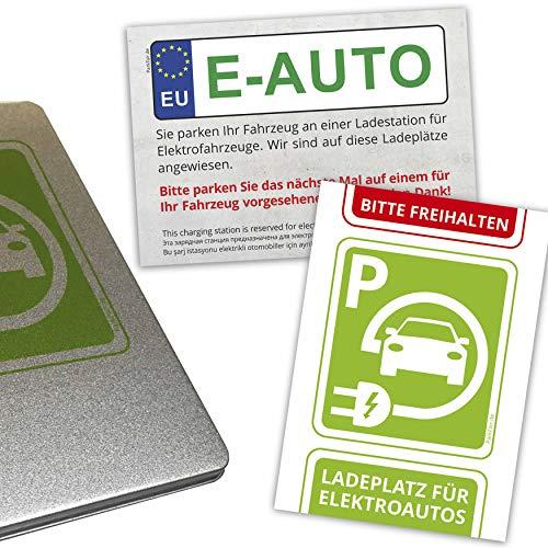 Parksünderblöckchen für Fahrer von Elektroautos