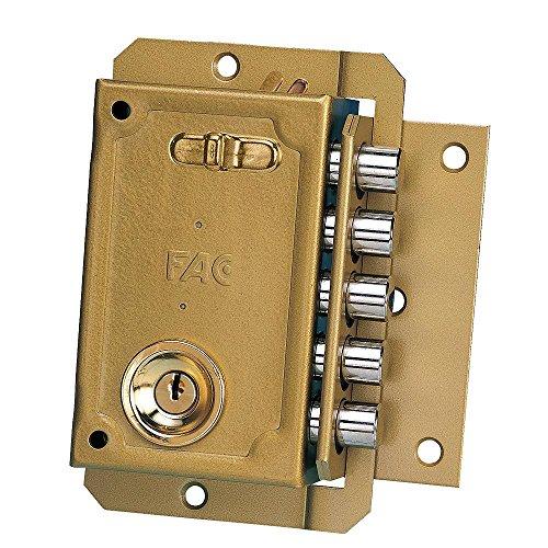 FAC 3013005 Cerradura S 90 Pintada Izquierda