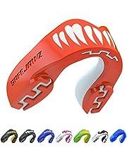 SAFEJAWZ Protector bucal Adultos y niños para Todos los Deportes de Contacto, incluidos Rugby, MMA, Artes Marciales de Kickboxing, Judo, Hockey y Boxeo
