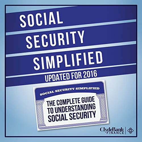 Social Security Simplified audiobook cover art