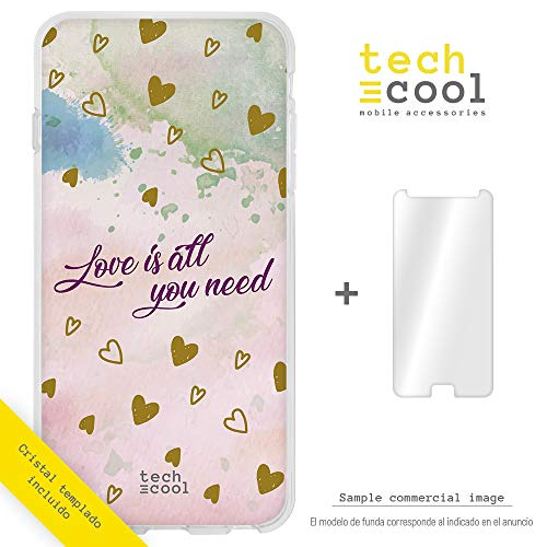 Funnytech ̈ Siliconen Cover voor Alcatel Pop 4 5