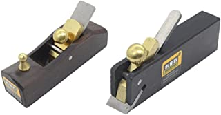 Fenteer 2pcs Mini Japanese Hand Planer Carpenter Hard Wood Hand Tools Easy To Use