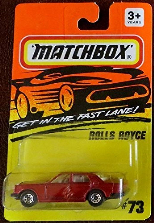 Matchbox 'ROLLS ROYCE ' Fast Lane  73 1994 Very Rare by Matchbox