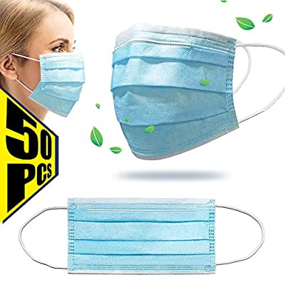 Face Cover Disposable Mouth Cover (50pcs-1)