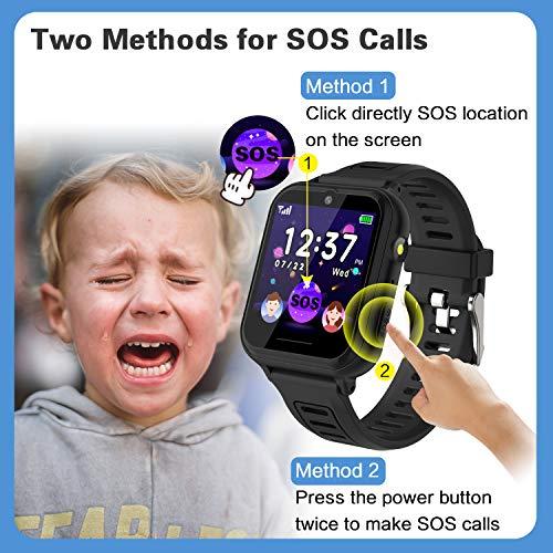 Telefonuhr/Smartwatch Kinder von BAUISAN (Amazons Choice) - 5