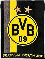 Borussia Dortmund BVB 09 BVB-Fleecedecke mit Streifenmuster