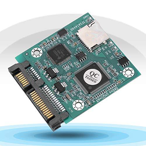 Adaptador de Micro SD a SATA, Impacto rápido de SDHC a SATA para computadora para Ingenieros de TI para Disco Duro SATA/SSD para entusiastas de la tecnología integrada