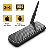 WiFi Display Dongle 2 In 1 Support Wireless And Wired, for TV,High Speed 1080P HDMI Miracast Do…