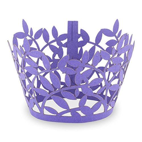 Elfenstall Cupcake / Muffin Papierförmchen - Zierumrandung - Dekorand