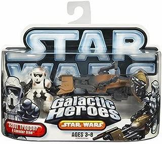 Hasbro Star Wars Galactic Hero Scout Trooper with Speeder Bike