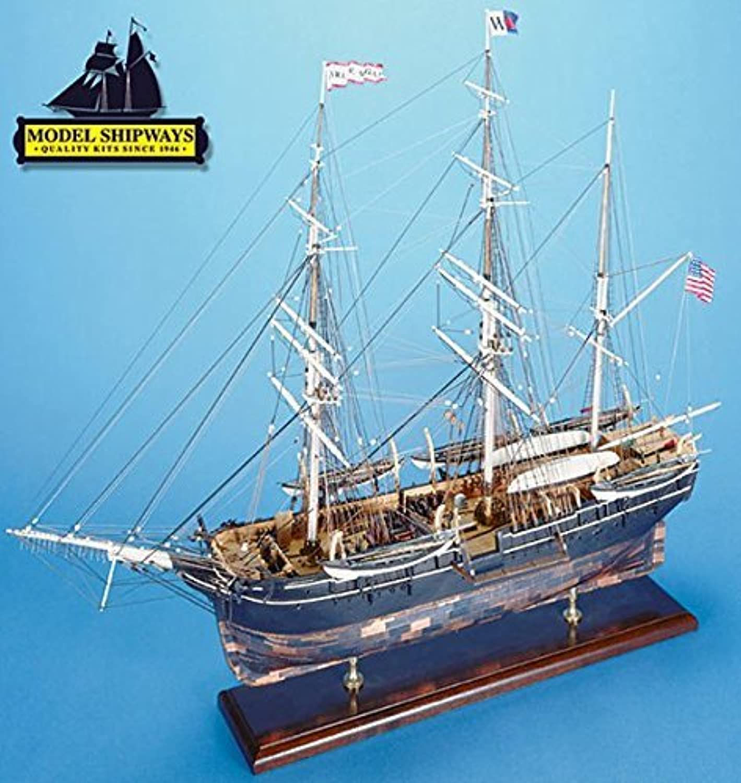 cómodamente Model Shipways Wood Ship Kit Charles Morgan Whale Bark 1 1 1 64 Scale MS2140 NEW and on SALE  - Model Expo by Model Expo  bajo precio del 40%