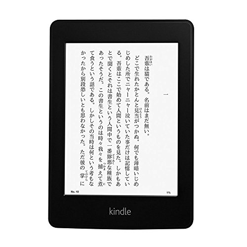Kindle Paperwhite 3G(ニューモデル)