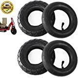CalPalmy 200X50 | 2 Tire & 2 Inner Tube Set - Electric Scooter Tire Tube for Razor E100, E150, E200, Power Core E100, Dune Buggy, ePunk, Crazy Cart, PowerRider 360, eSpark
