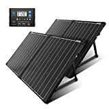 ACOPOWER 200W Portable Solar Panel Kit, Waterproof 20A Charge Controller...
