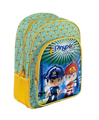 Pinypon Action - Mochila Infantil Adaptable a Carro con tamaño Mediano, Recomendado a Partir de 3 años (Famosa 700015988)