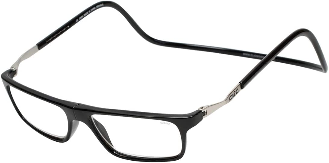 CliC Executive Max 73% OFF XL Magnetic Reading Front Bla Connecting Glasses Factory outlet