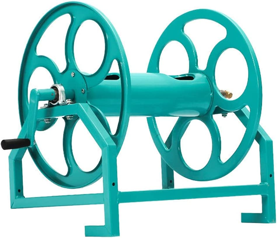 New arrival Gardening Hose Reel Cart for Some reservation Portable Trolley Outdo Wall-Mounted