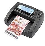 OLYMPIA NC 335 Automatisches Geldscheinprüfgerät – Updatebar – LCD-Display – Geldzähler integriert | Mobiler Geldscheinprüfer, Banknotenprüfer für Euro-Noten