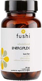 Fushi Whole Food Energiplex Capsules, 60 Caps   Co10, Electrolytes, Caffeine Free Energy   Siberian Ginseng & Gotu Kola  I...