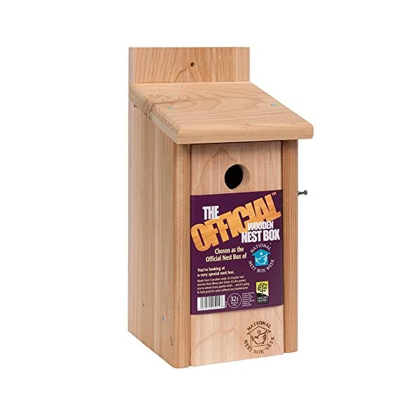 Jacobi Jayne Nesting Wild Garden Traditional Wooden Cedar Bird Boxes Nest House