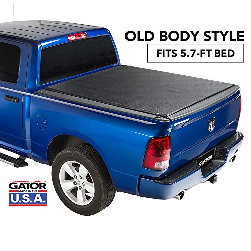 Gator ETX Soft Roll Up Truck Bed Tonneau Cover | 53204 | fits 09-18, 2019 Classic Dodge Ram 1500, 5.7' Bed | Made in the USA