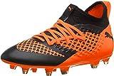 Puma Future 2.3 Netfit FG/AG Jr, Chaussures de Football Mixte Enfant, Noir (Puma Black-Shocking Orange 02), 38 EU
