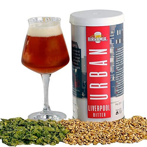Malto luppolato Birramia Urban Liverpool Bitter (Malto per birra) 1,8 kg = 23 Litri